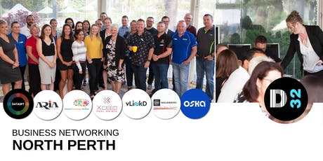 District32 Business Networking Perth – North Perth - Thu 25th July tickets