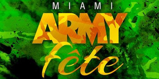 MIAMI CARNIVAL ARMY FETE 2019
