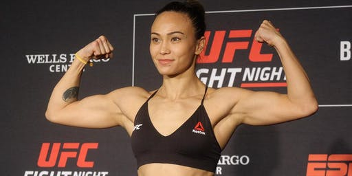 Michelle Waterson Charity Training Event