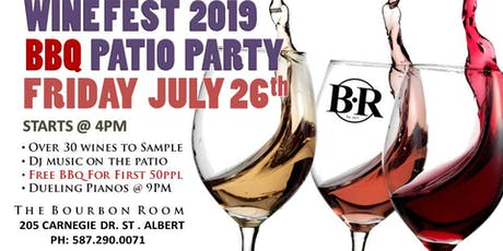 Winefest 2019 BBQ Patio Party tickets