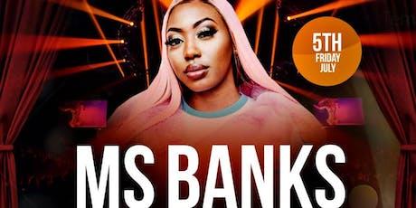 Ms BANKS Live in BRISTOL tickets