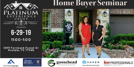 Platinum Experience Group | Home Buyer Brunch tickets