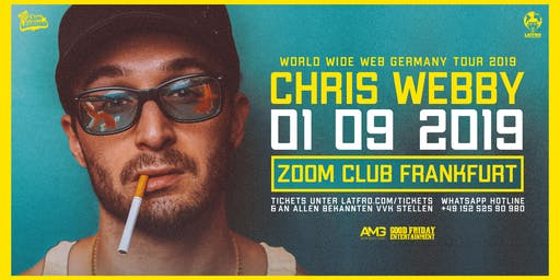Chris Webby Live in Frankfurt - 01.09.19 - Zoom Club