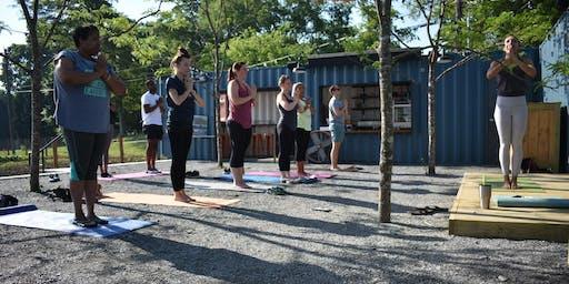 Yoga at the Farm