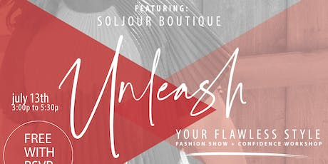 Unleash Your Flawless Style tickets