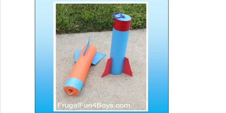 Make your own rocket, watch it fly - Hub Library tickets