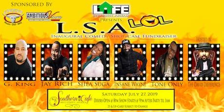 Life Straight Ahead Inaugural L.S.A. L.O.L. Comedy Fundraiser tickets