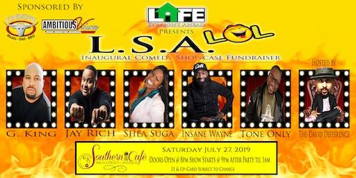 Life Straight Ahead Inaugural L.S.A. L.O.L. Comedy Fundraiser