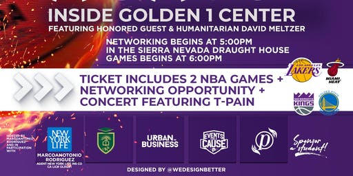 NBA Summer League for a Cause + Networking mixer @ Golden1 Project Optimism