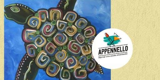 Tartaruga di mare: aperitivo Appennello a Jesi (An)