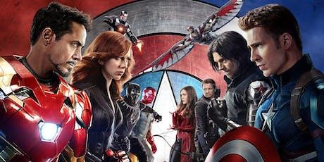 Old Pasadena Summer Cinema - Captain America: Civil War PG-13 (2016) tickets