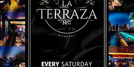 La Terraza Rooftop Saturdays tickets