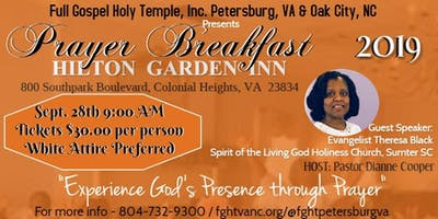 Full Gospel Holy Temple, VA & NC - Prayer Breakfast 2019