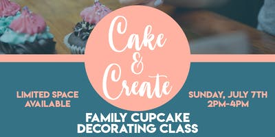 Cake & Create: Cupcake Decorating Class | Food, Refreshments & Vendor Shop