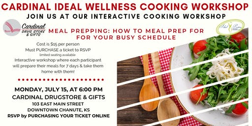 Cardinal Ideal Wellness Interactive Cooking Workshop