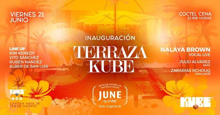 Inauguracion Terraza Kube 2019 21 Jun 2019