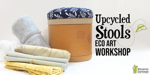 Upcycled Stools Eco-Art Workshop