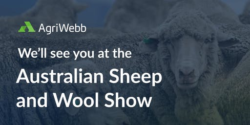 AgriWebb at the Australian Sheep and Wool Show