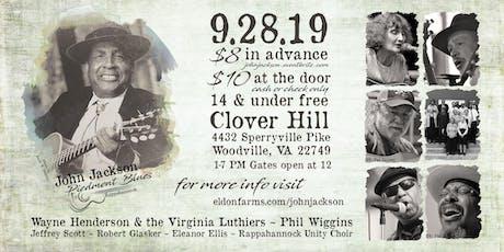 John Jackson Piedmont Blues Rappahannock tickets