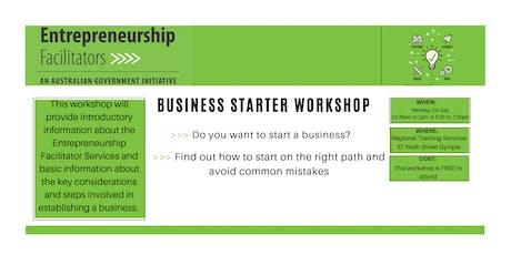 Business Starter Workshop July 2019 tickets
