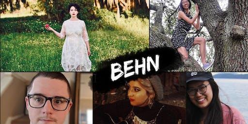 BEHN: Live Music Sat 8/3 6p at La Divina - also featuring +Aziz