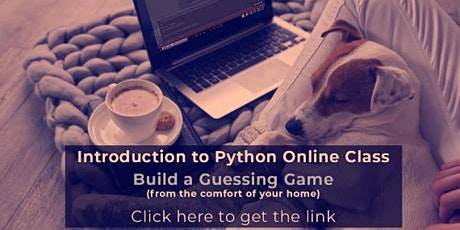 Intro To Python Webinar tickets