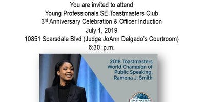 Young Professionals SE Toastmasters Anniversary Celebration featuring Ramona J. Smith, 2018 Toastmasters World Champion Speaker