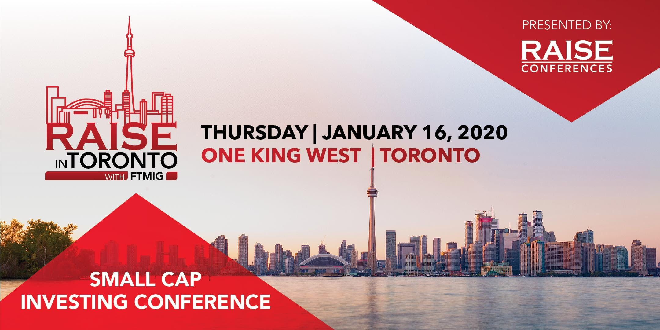 RAISE in TORONTO Small Cap Investing Conference