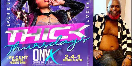 CITY GIRLS DJ @ THICK THURSDAYS @ ONXY SPORTS BAR  tickets