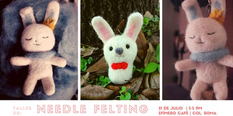 Taller de Needle Felting tickets