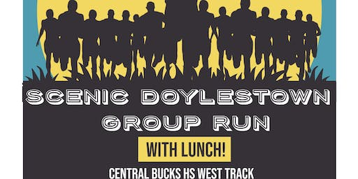 Scenic Doylestown Group Run with Lunch