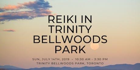 Reiki in Trinity Bellwoods Park tickets