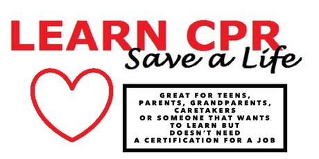 CPR training  tickets