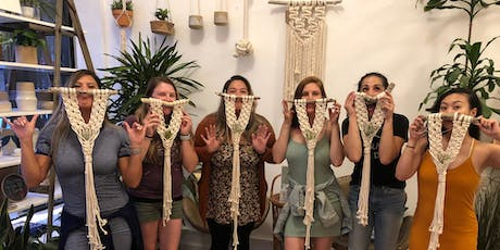 Macrame All Day: Air Plant Hanger (Air Plant Included)  tickets