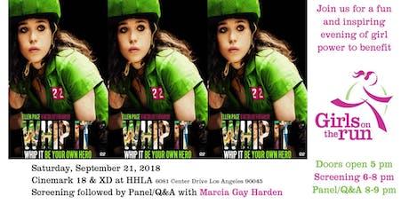 Girls on the Run Fundraising Screening: Whip It tickets