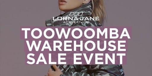 VIP EVENT: Lorna Jane Toowoomba Warehouse Sale.