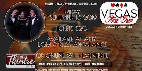 Vegas After Dark September 13 tickets