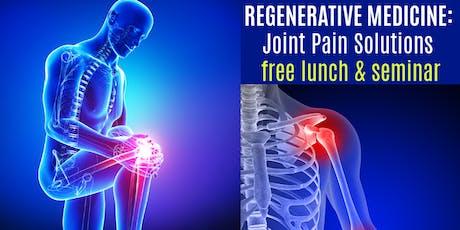 Regenerative Medicine Seminar: Breakthrough Joint Pain Solutions tickets