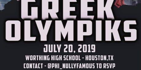 Greek Olympiks  tickets