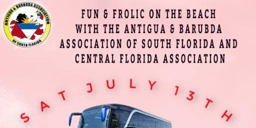 FUN & FROLIC ON THE BEACH WITH THE FLORIDA ANTIGUA & BARBUDA ASSOCIATIONS
