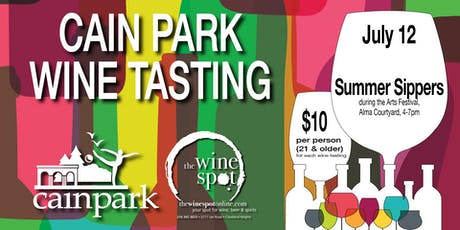 SUMMER SIPPERS Wine Tasting at Cain Park tickets