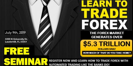 100% Hands Free Forex Seminar (Limited Seating) tickets