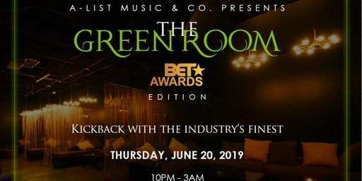 The Green Room BET Awards Edition