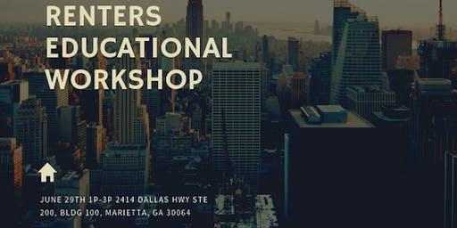 Renter's Educational Workshop