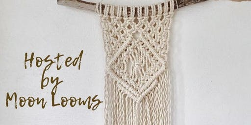 Macrame All Day: Wall Hanging Art Piece