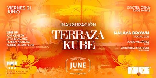 INAUGURACION TERRAZA KUBE 2019