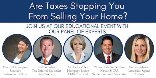 Home Sale Tax Deferral Seminar