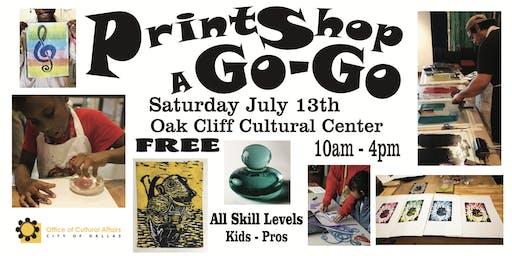 PrintShop a Go-Go 2: Free Printmaking Workshop All Ages