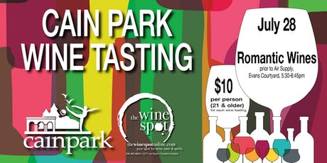 ROMANTIC WINES Wine Tasting at Cain Park tickets