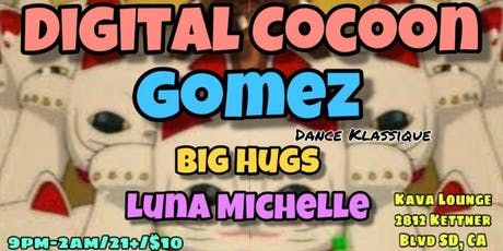 Digital Cocoon with Gomez tickets